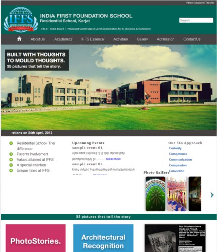 html5 css3 jquery responsive desing iff school